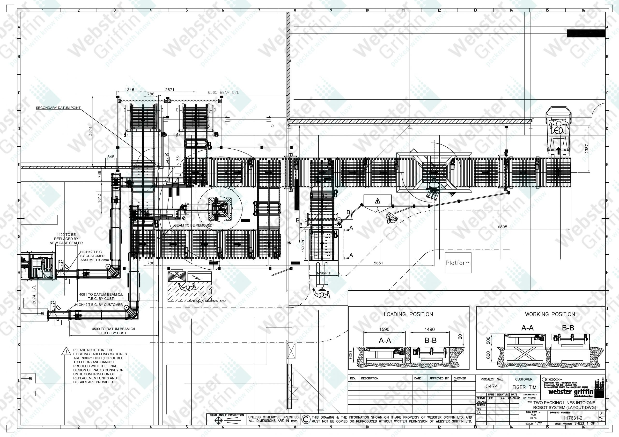 R:P- 0401 to 0500P-0474117631- Overall layout palletizing sys