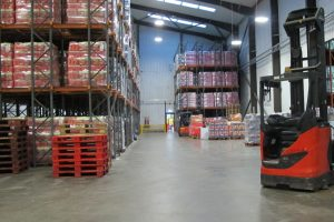 AGV In Warehouse - Webster Griffin