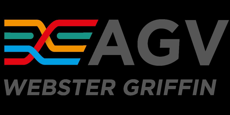 AGV Logo Black