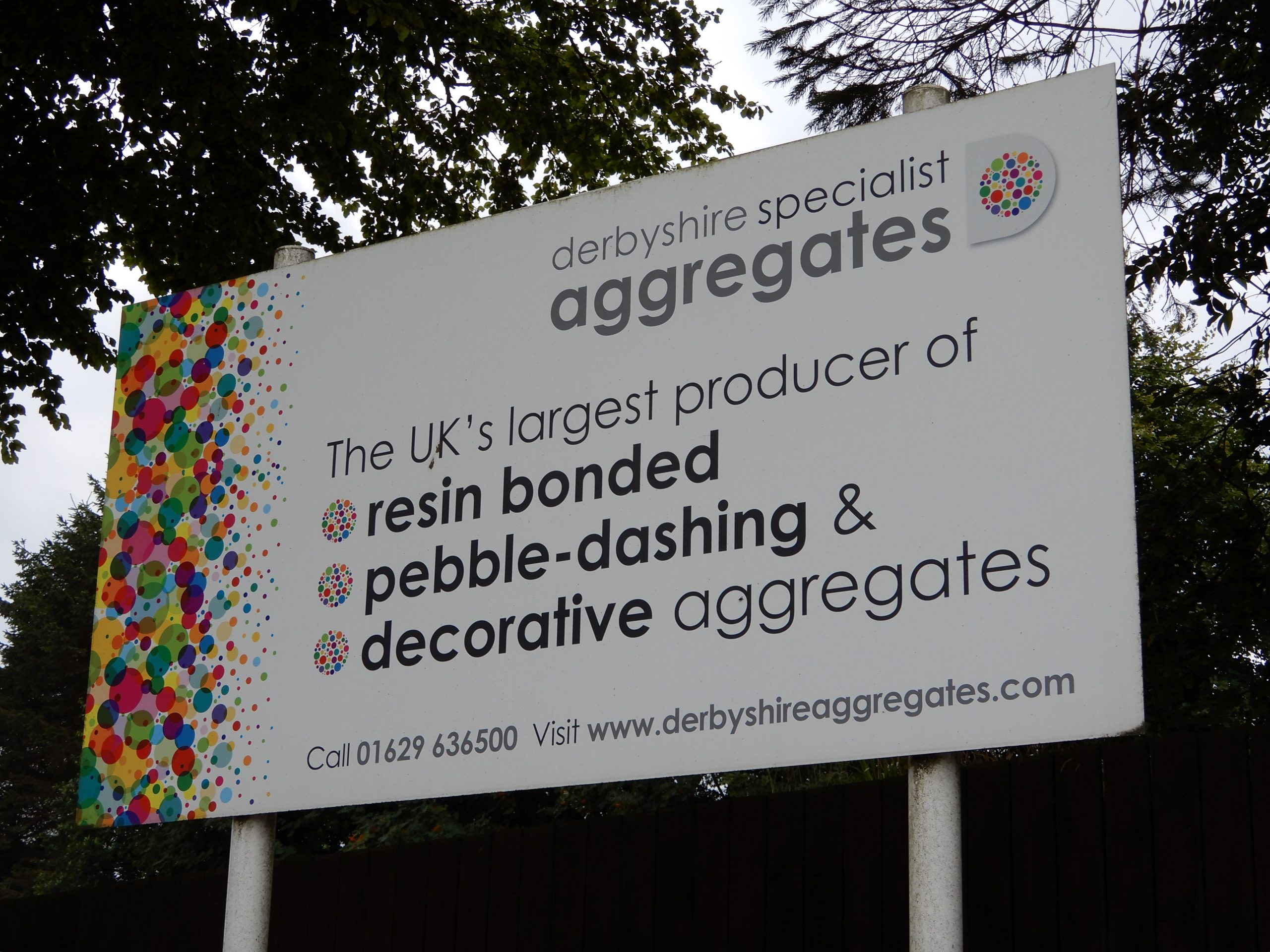 Derbyshire Aggregates Signage