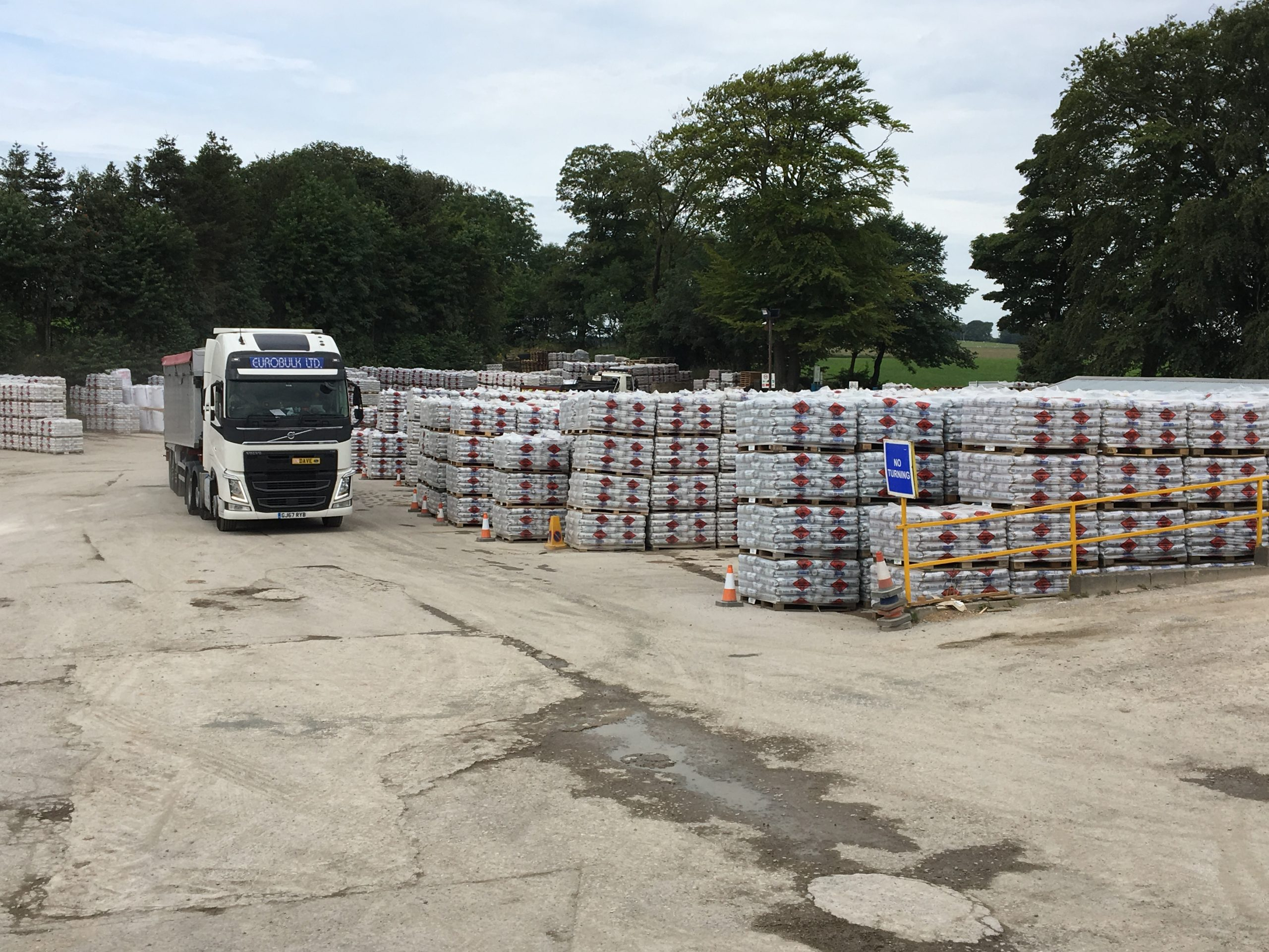 Derbyshire Aggregates ready For Transport